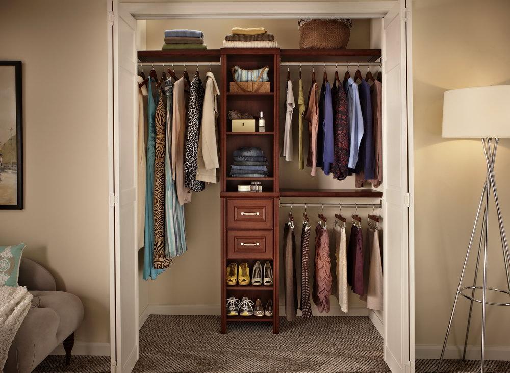 Very Small Walk In Closet Ideas