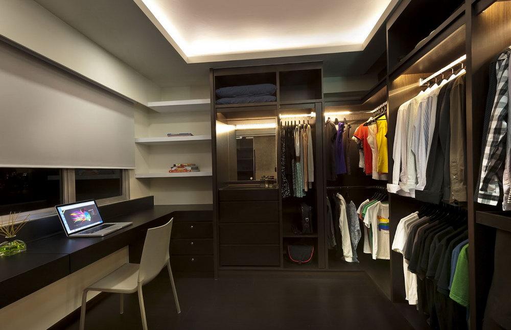 Walk In Closet Ideas For Men