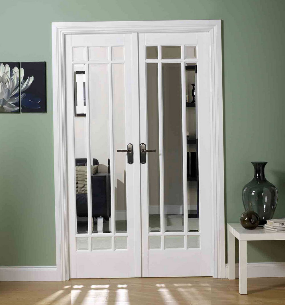 White French Closet Doors