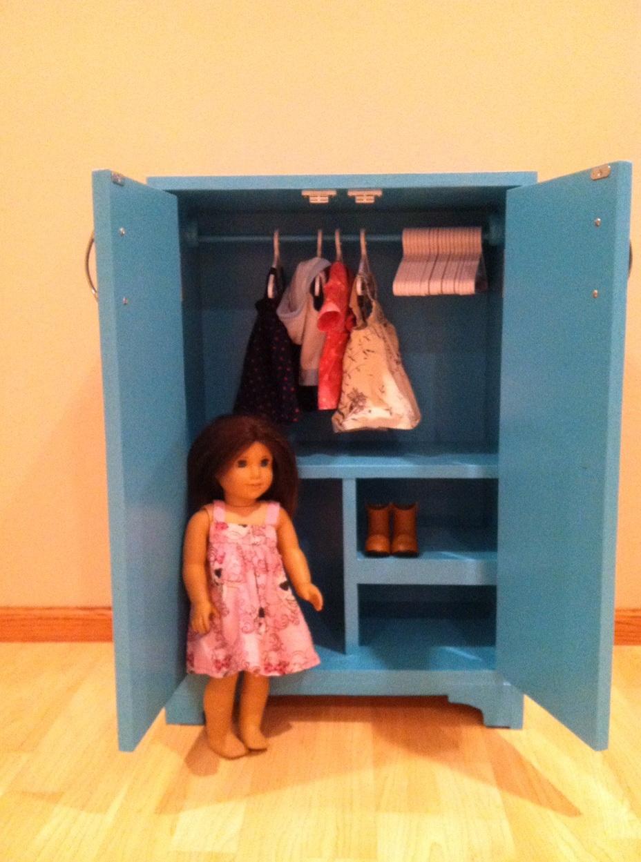 American Girl Doll Closet