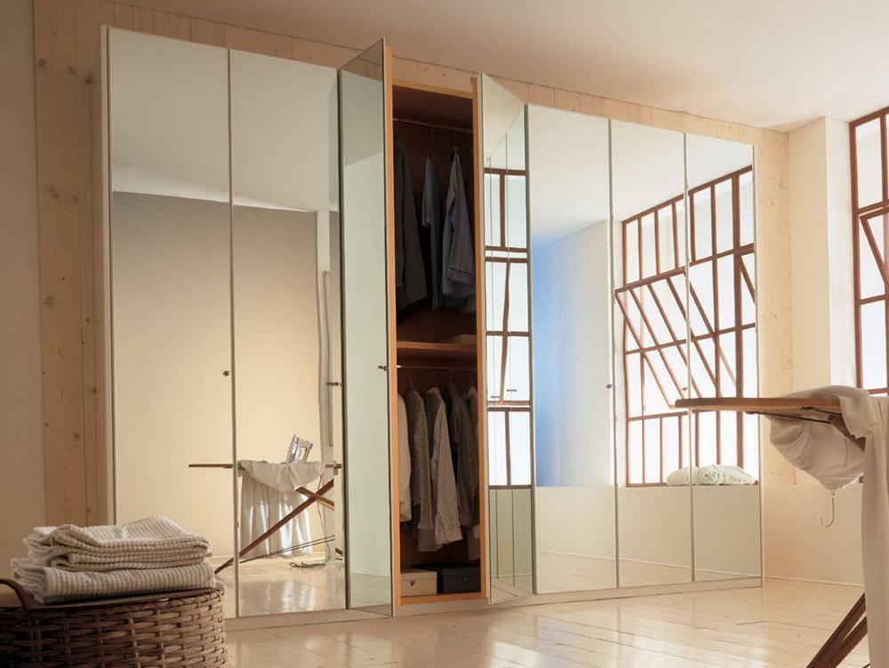 Bifold Mirror Closet Door