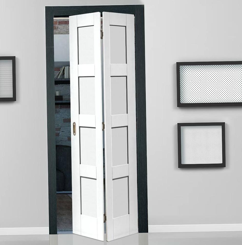 Bifold Shaker Closet Doors