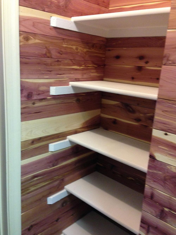 Cedar Closet Planks Lowe's