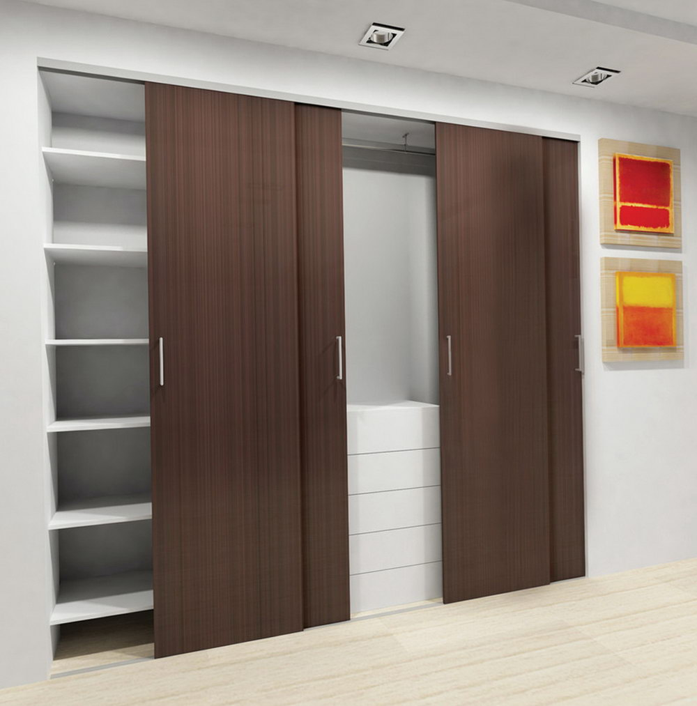 Closet Door Cover Ideas