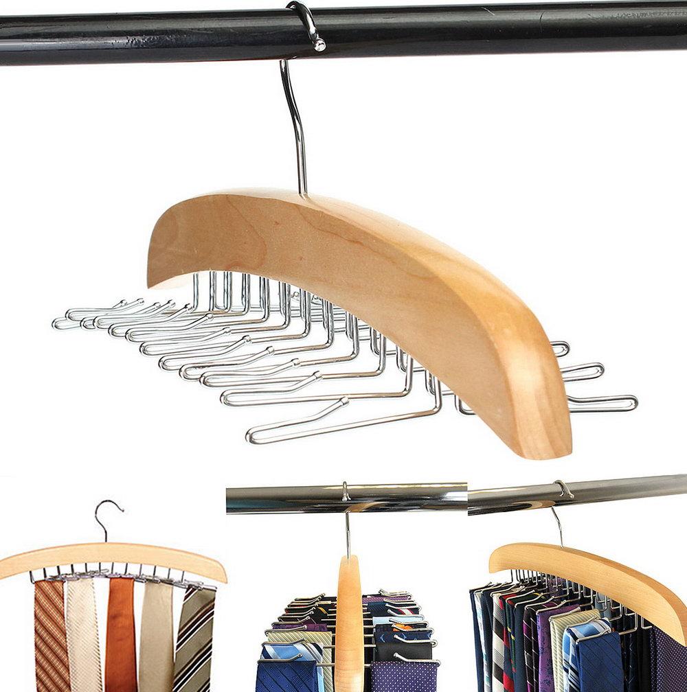 Closet Tie Rack Hanger