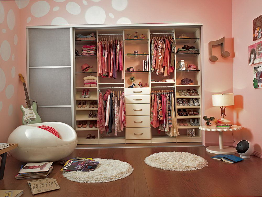 Cool Closet Ideas For Girls