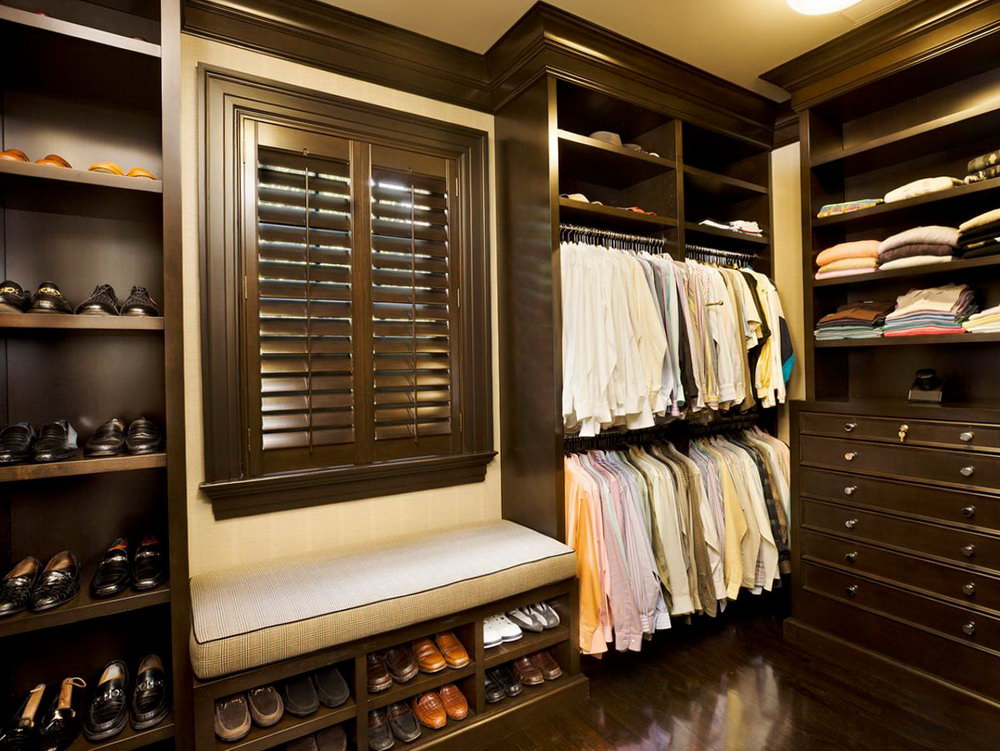 Cool Closet Ideas For Men