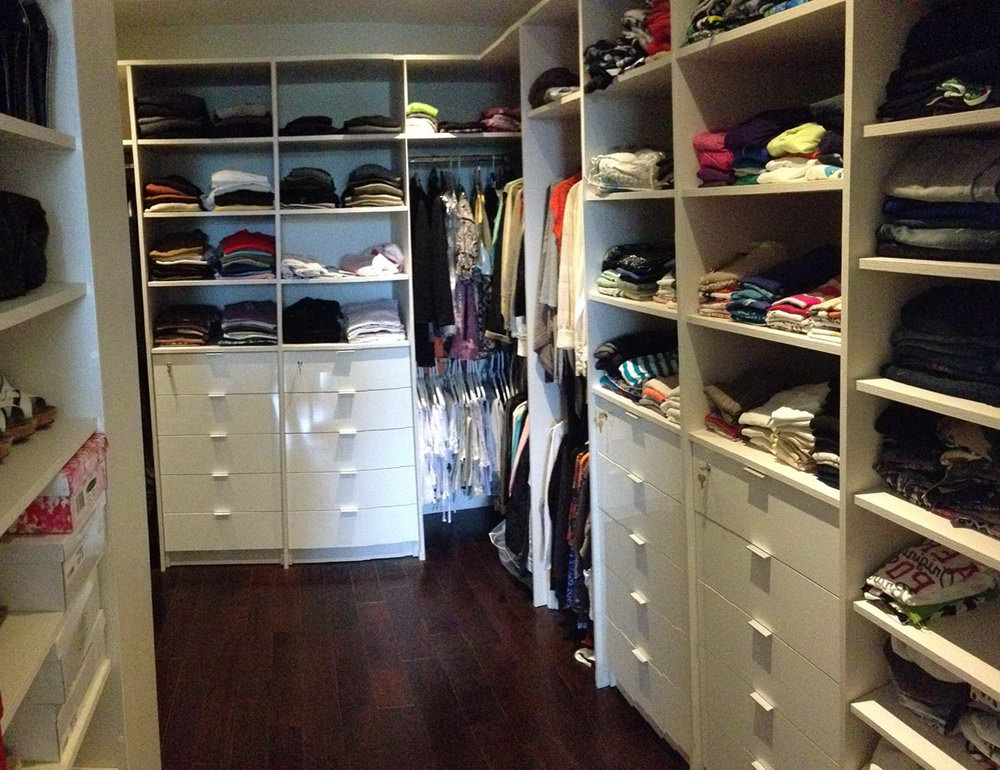 Custom Closet Design Plans