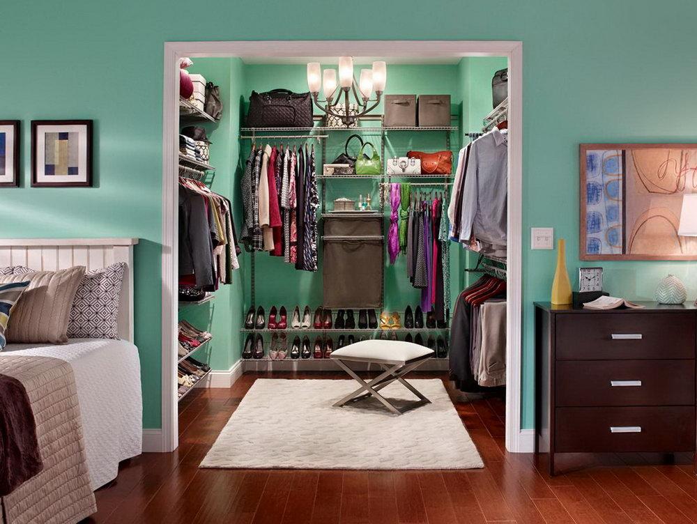 Diy Small Walk In Closet Ideas