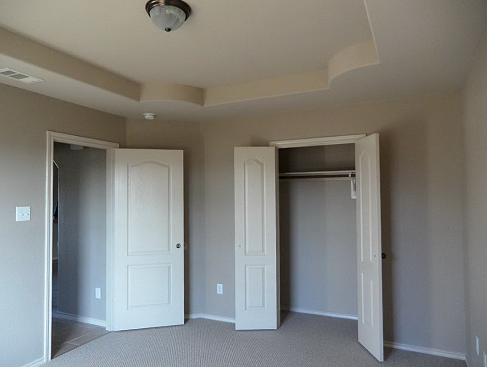 Double Hinged Closet Doors