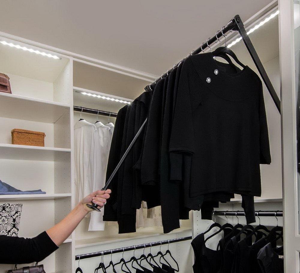 Extra Hanging Closet Rod