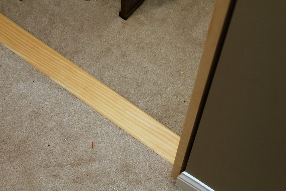 How To Install Sliding Closet Doors On Carpet