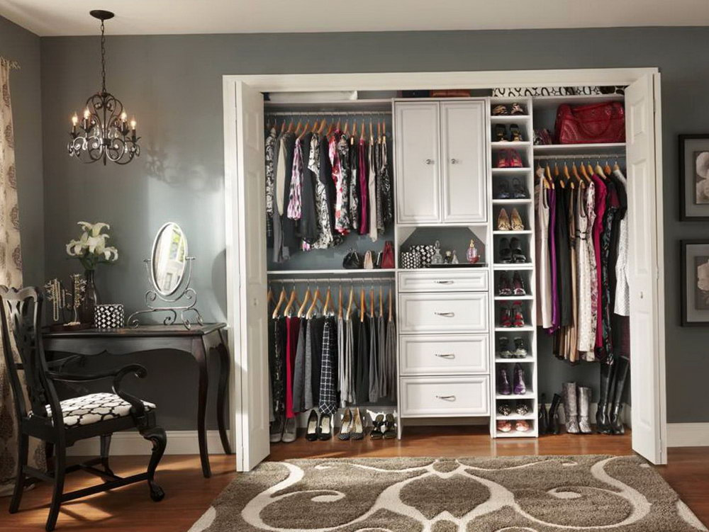 Ideas For Organizing Small Closets