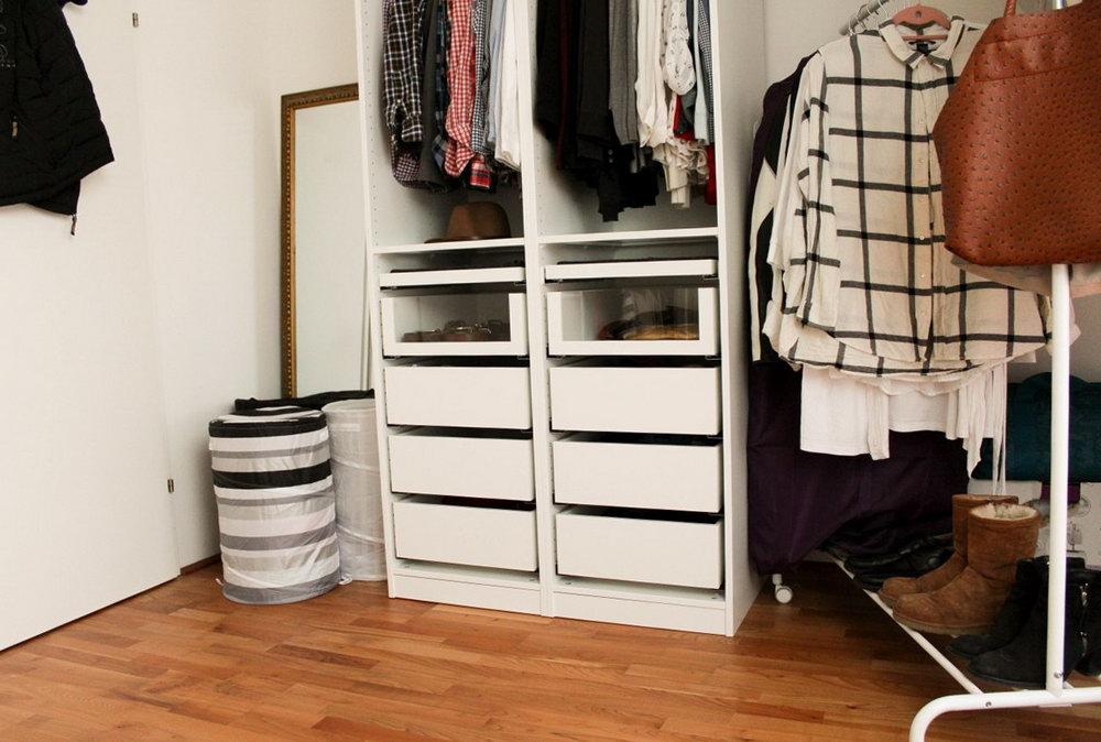 Ikea Walk In Closet Hack