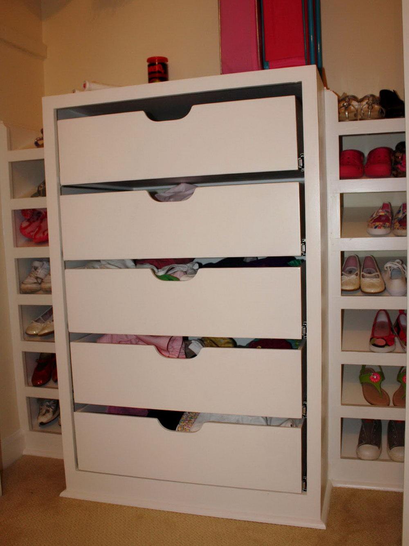 In Closet Dresser Drawers