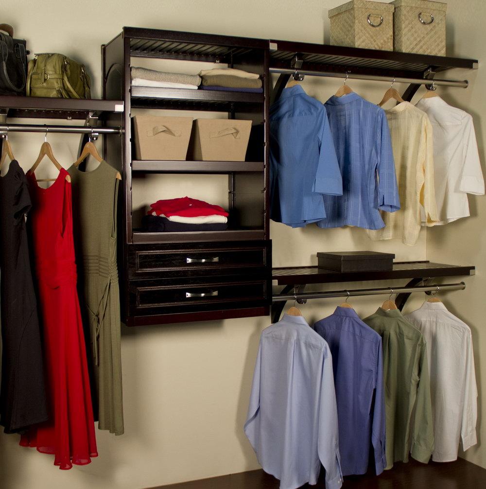 John Louis Closet Organizer