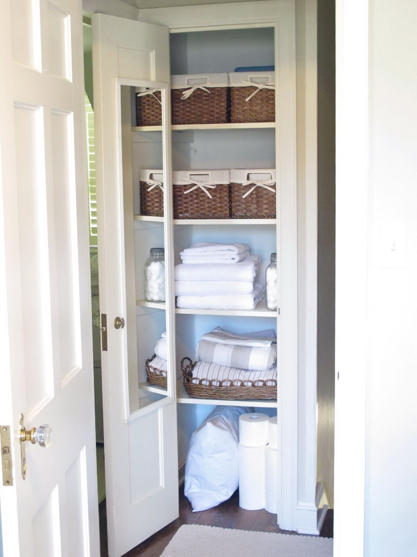 Linen Closet Ideas Small Closets