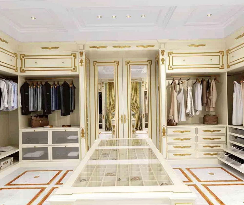 Luxury Walk In Closet For Women