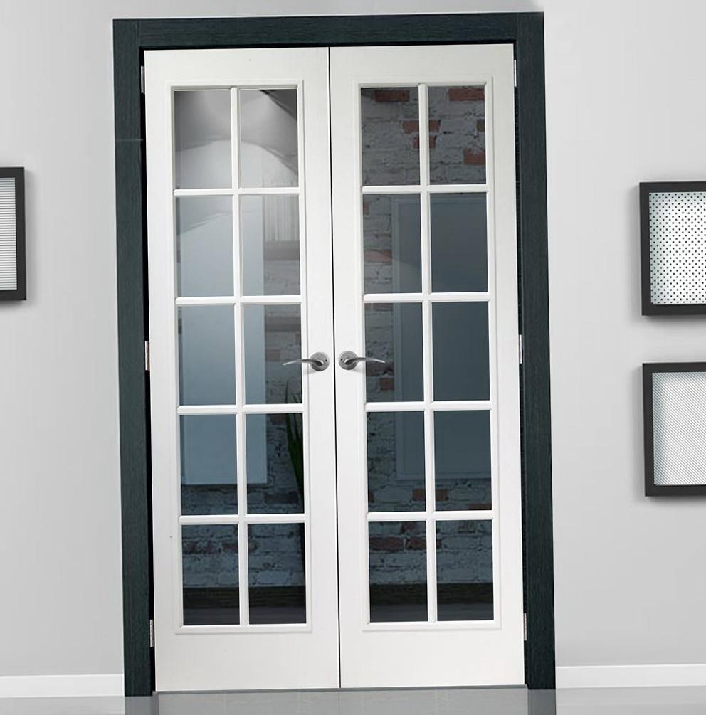 Narrow Double Closet Doors