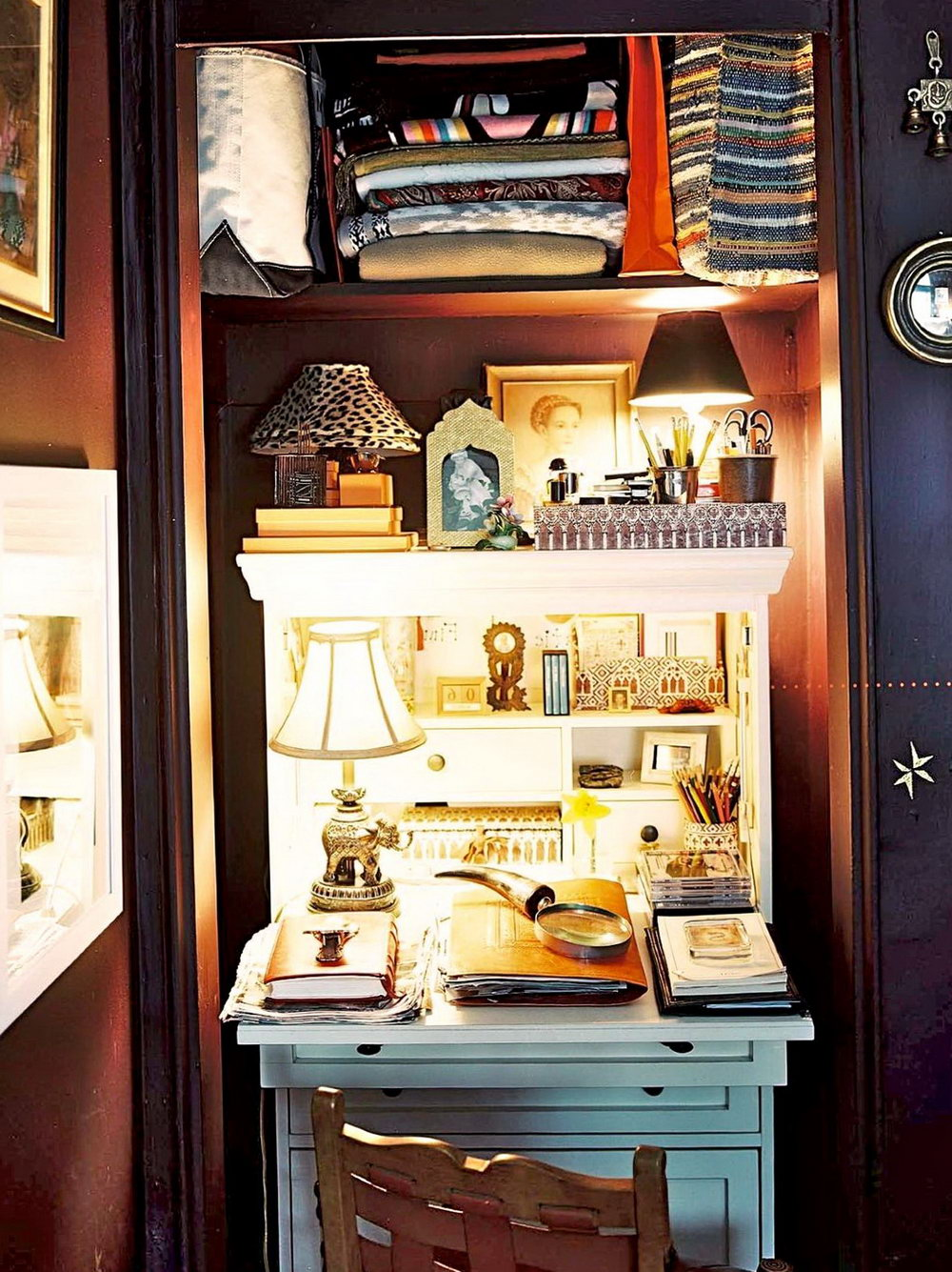 Office Closet Organization Ideas