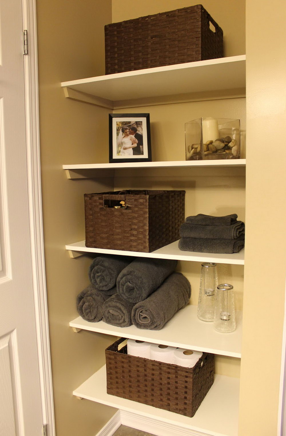 Open Closet Storage Ideas