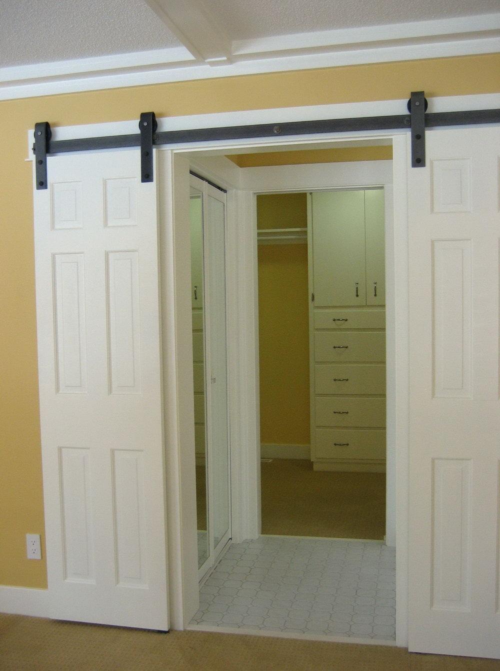 Sliding Barn Door Closet Doors