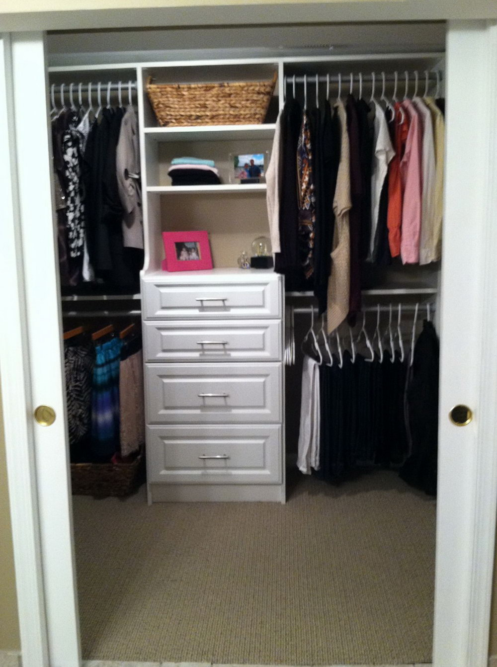 Small Closet Space Organization Ideas