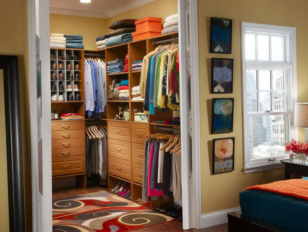 Small Closet Space Saving Ideas