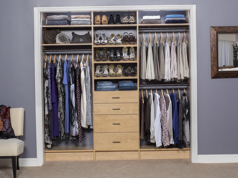 Small Room Closet Solutions
