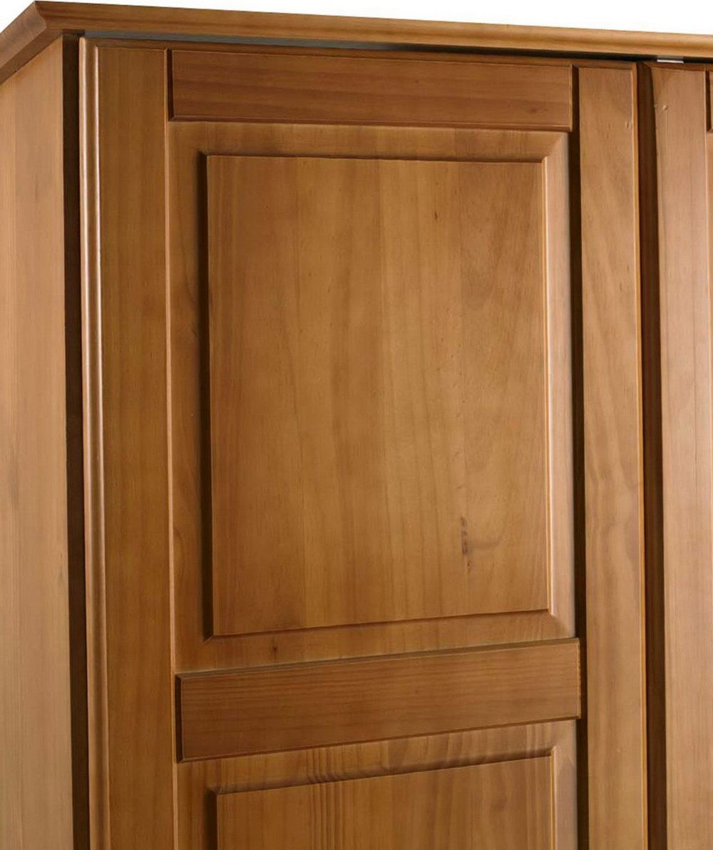 Solid Wood Armoire Closet