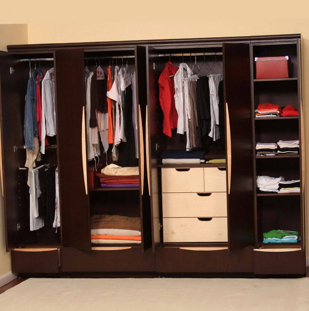Solid Wood Closet Organizers
