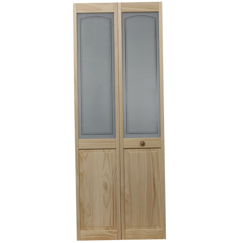 Solid Wood Folding Closet Doors