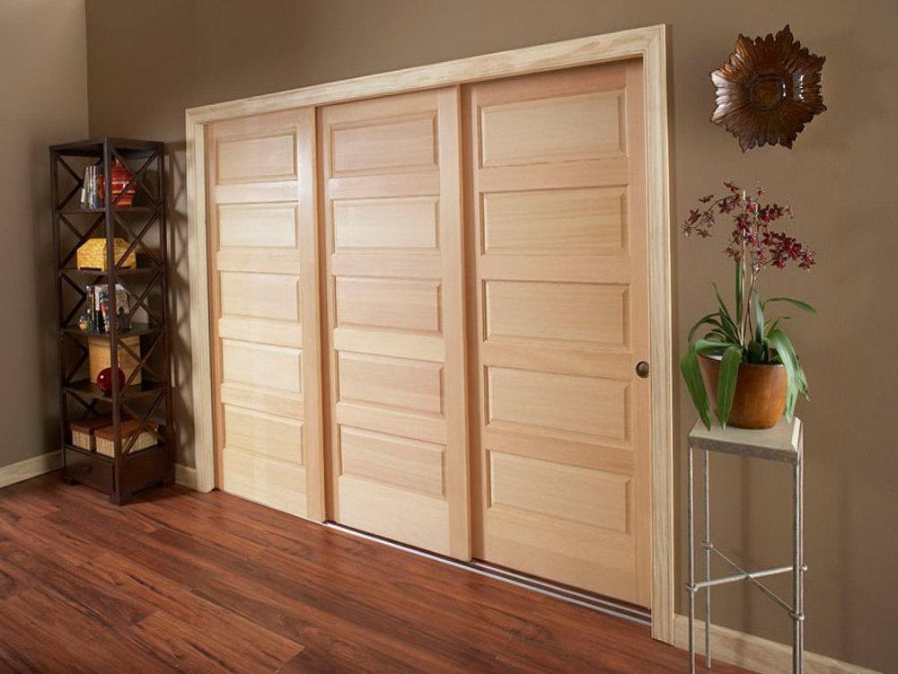 Triple Closet Door Track