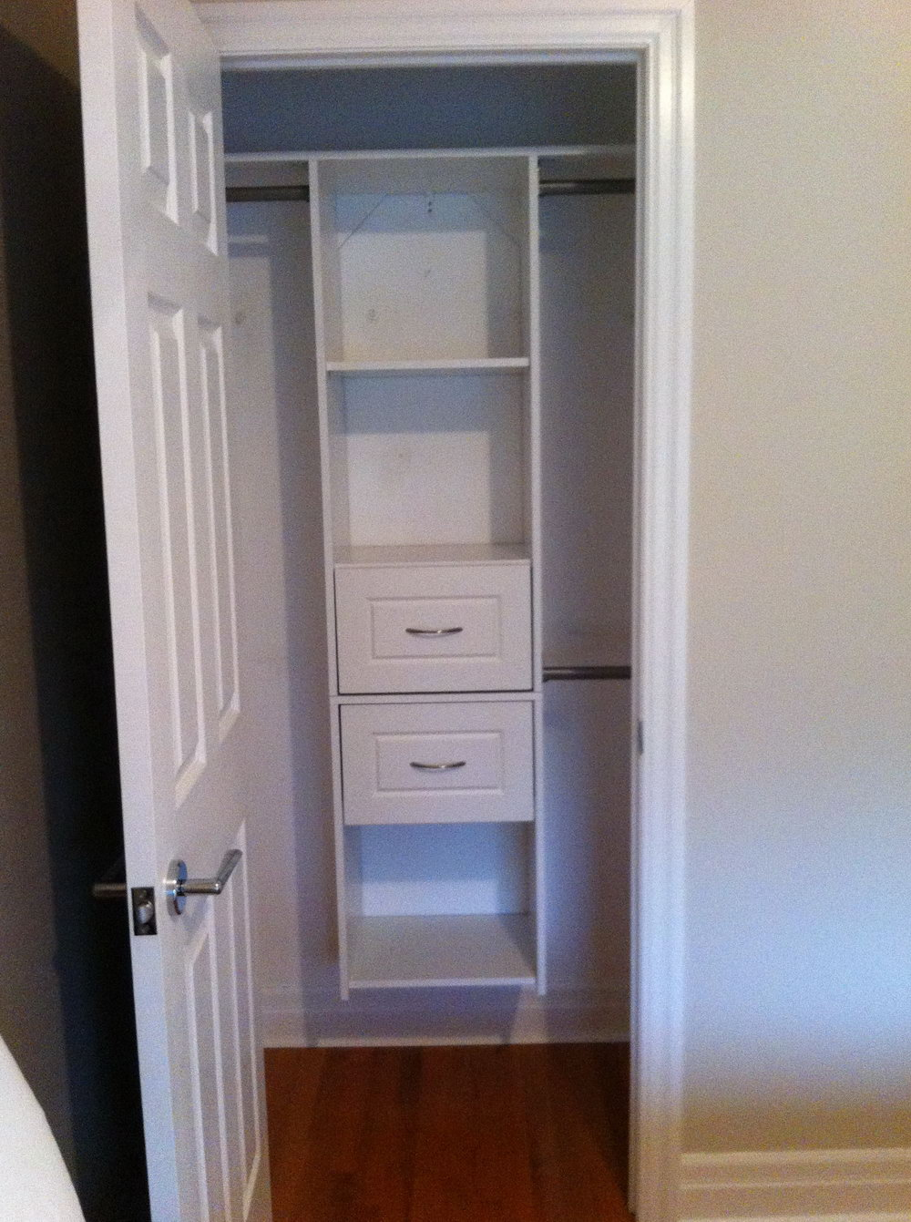 Very Small Closet Solutions