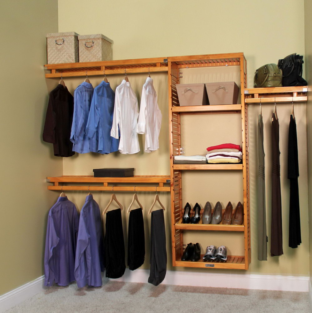Wood Closet Systems Home Depot