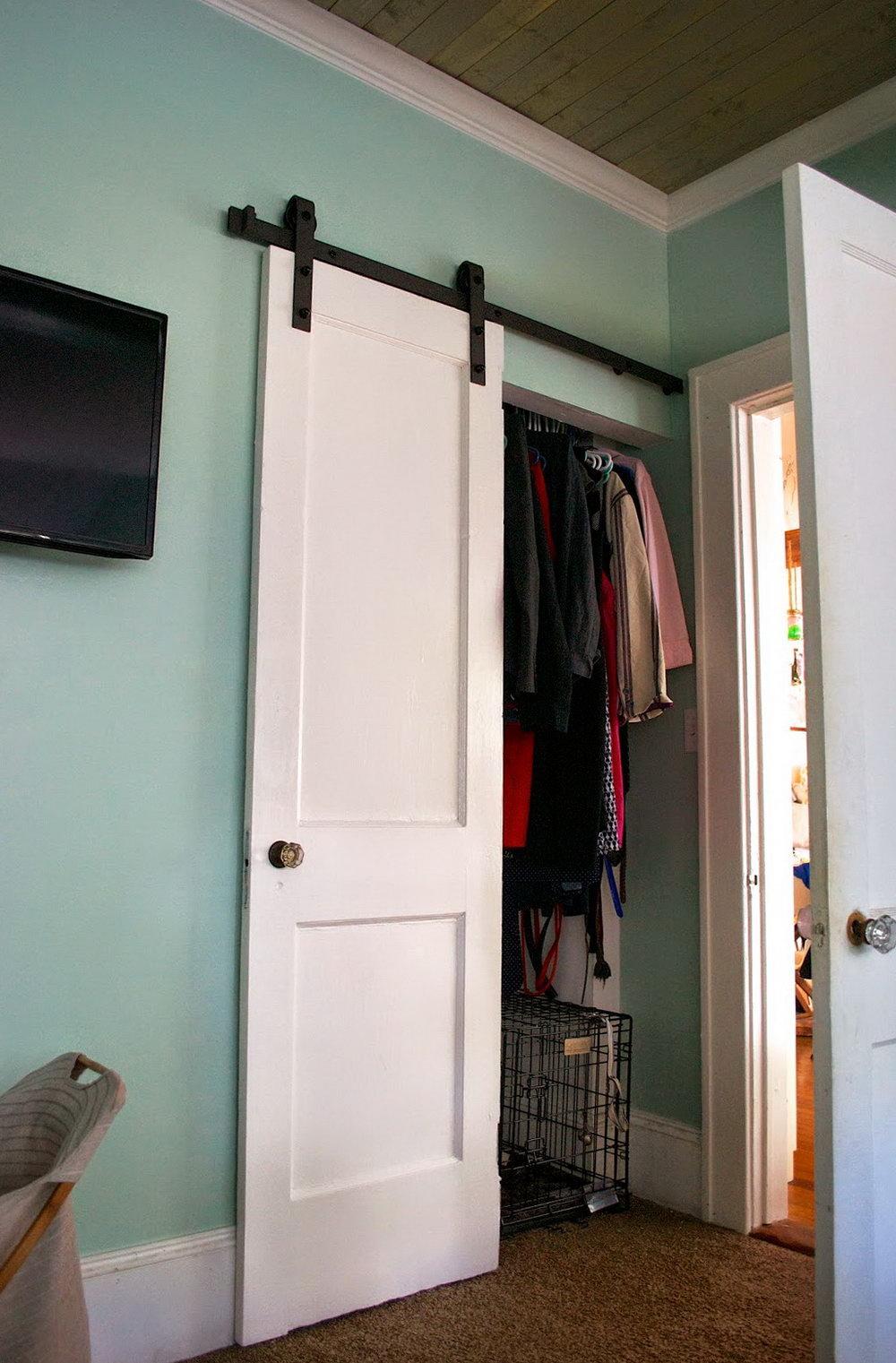 Barn Door For Closet Lowes