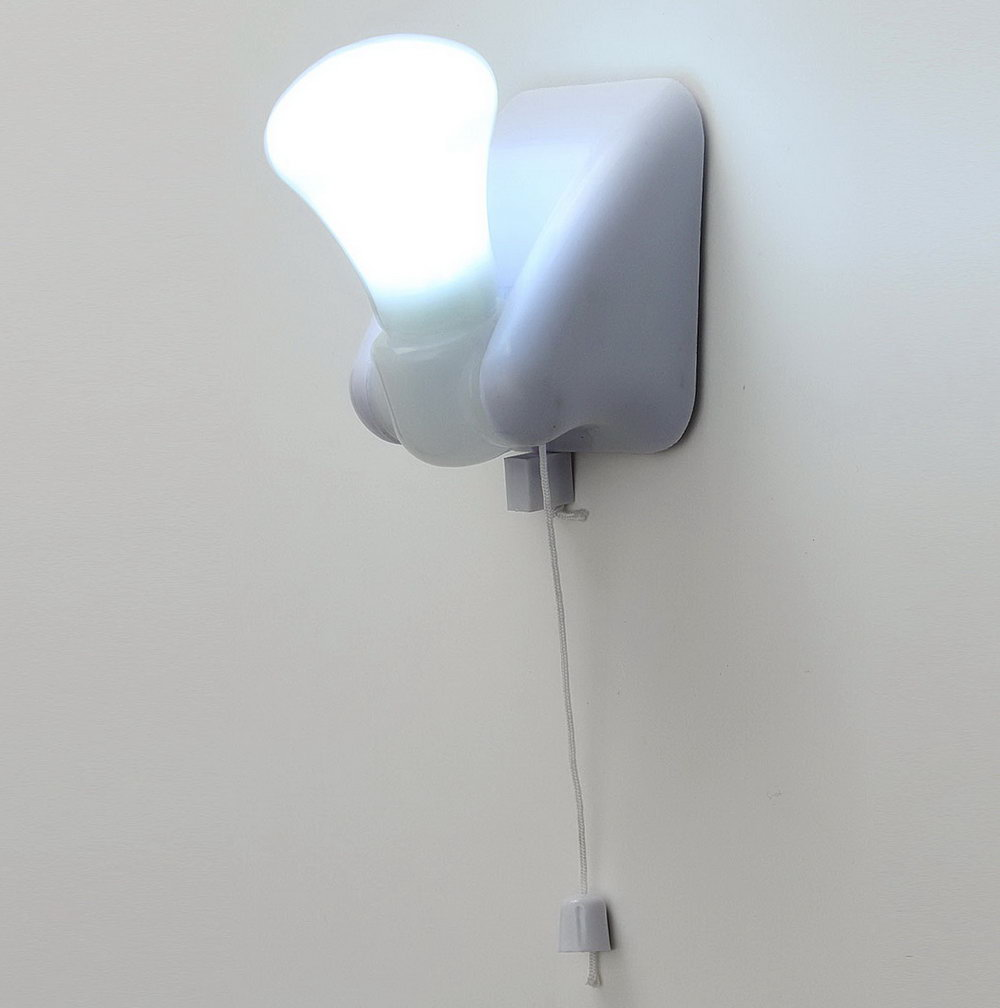 Battery Closet Light Pull Chain