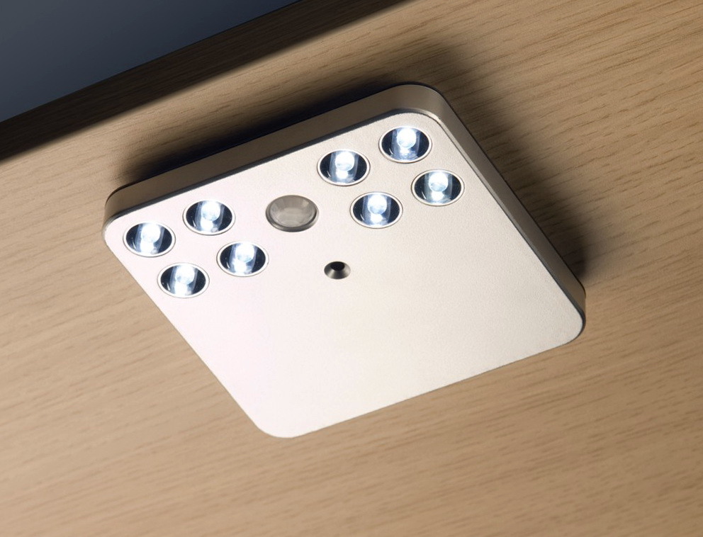 Battery Powered Closet Light With Motion Sensor