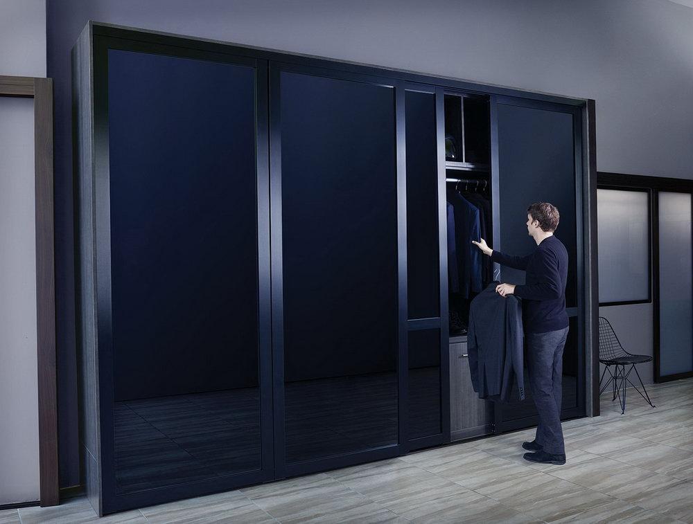 Bifold Closet Doors With Glass Panels