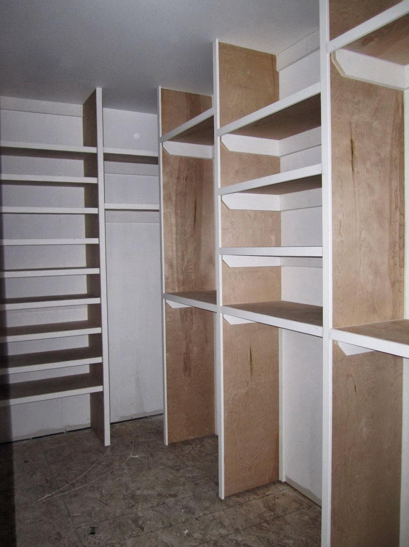 Building A Walk In Closet In Basement