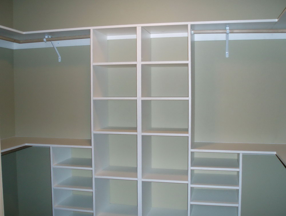 Built In Closet Storage Ideas
