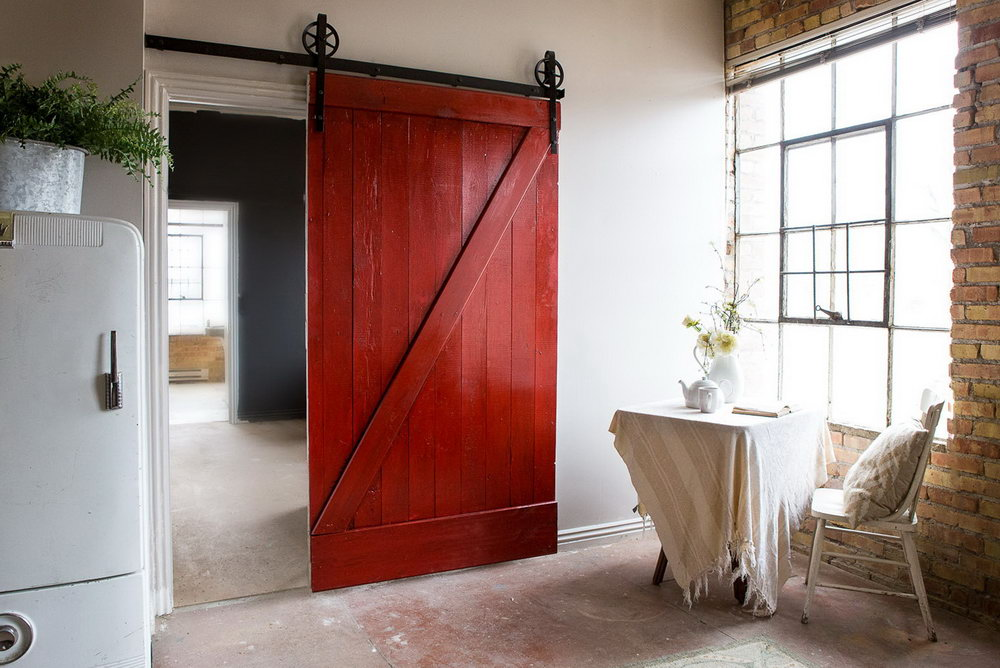 Closet Barn Door Images