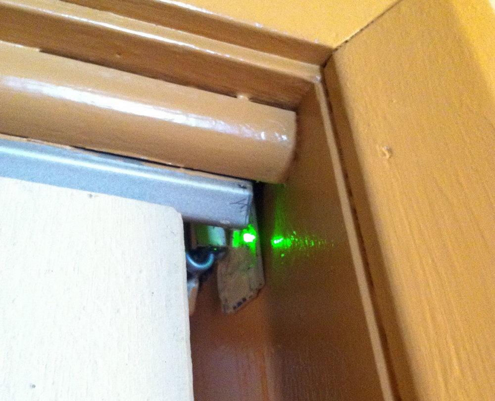 Closet Door Light Switch