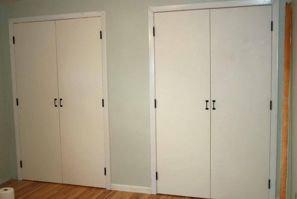 Closet Door Makeover Ideas
