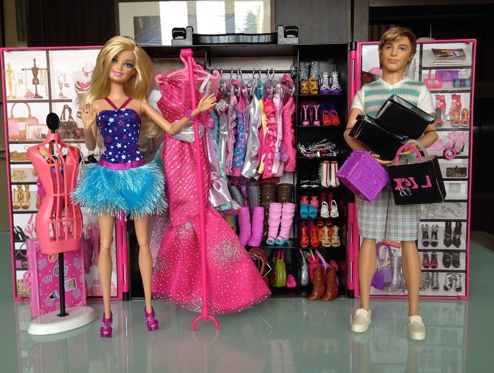 Closet For Barbie Clothes
