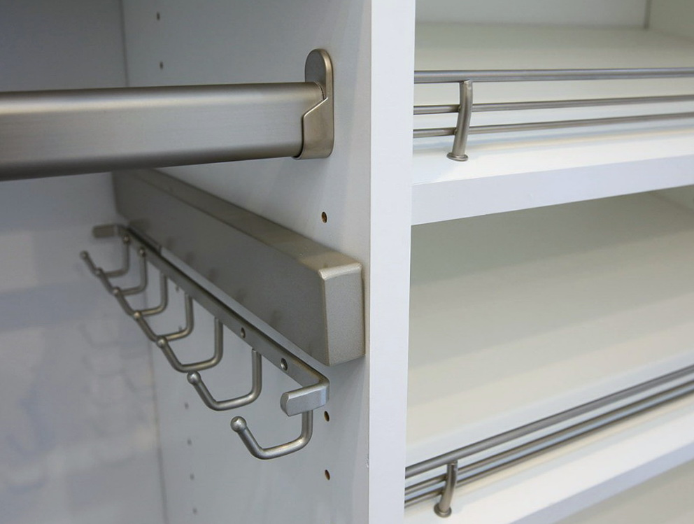Closet Hanger Rod Size