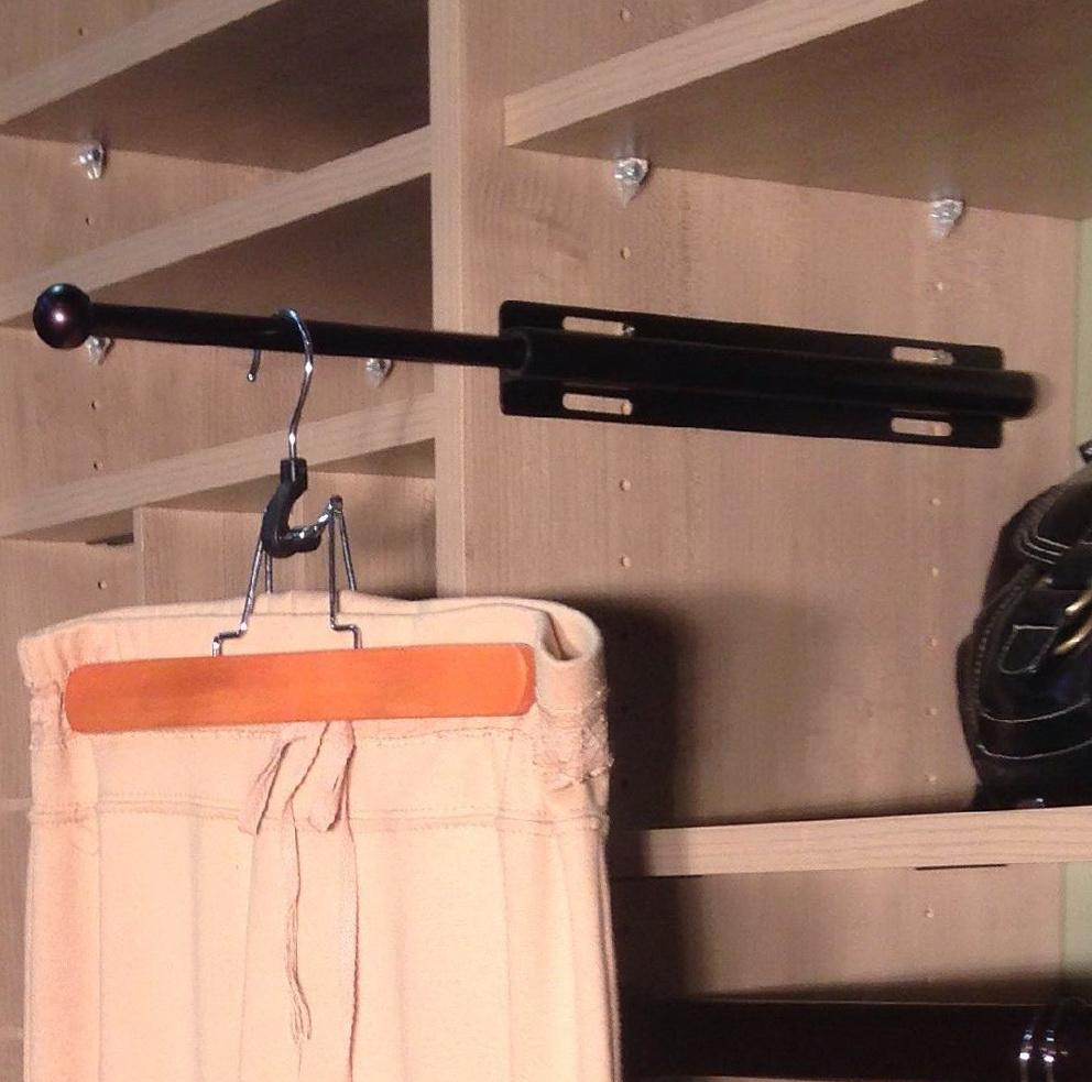 Closet Rod Extender Hanging