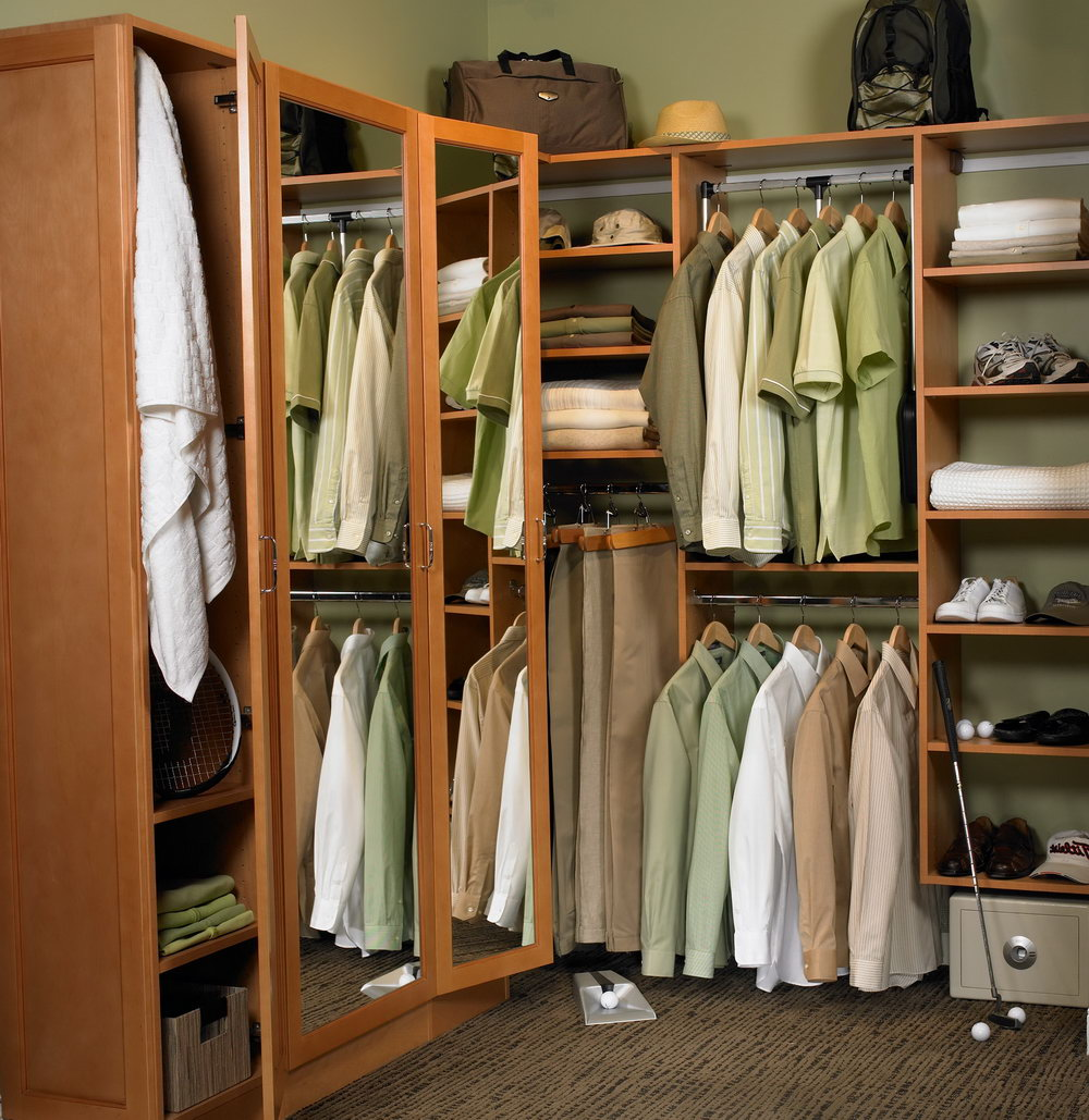 Clothes Closet Organizing Ideas