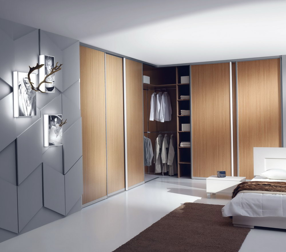 Corner Closet With Doors
