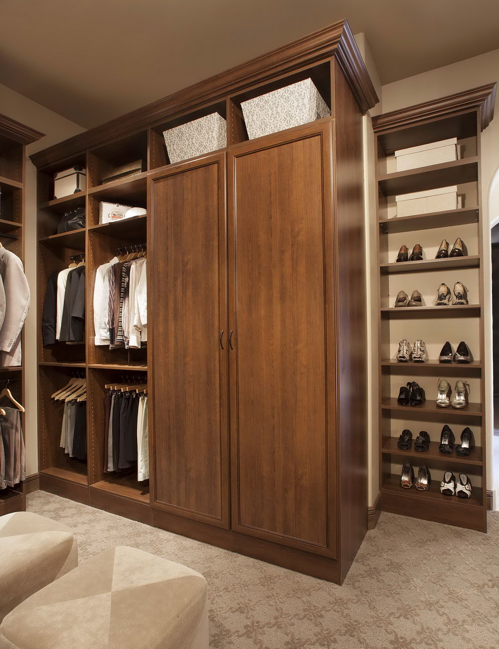 Custom Built Closet Ideas